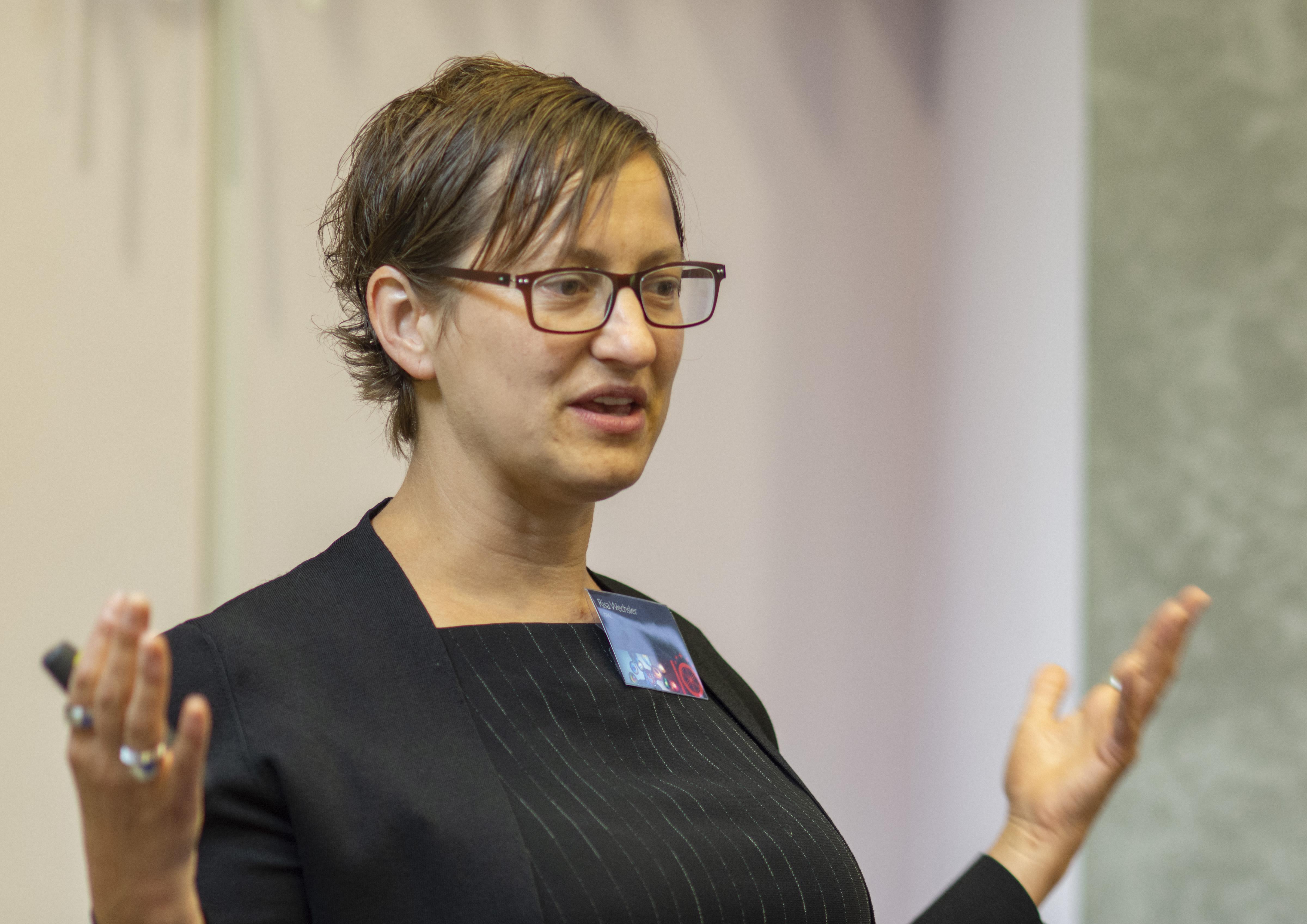 Morning presentations: Risa Wechsler