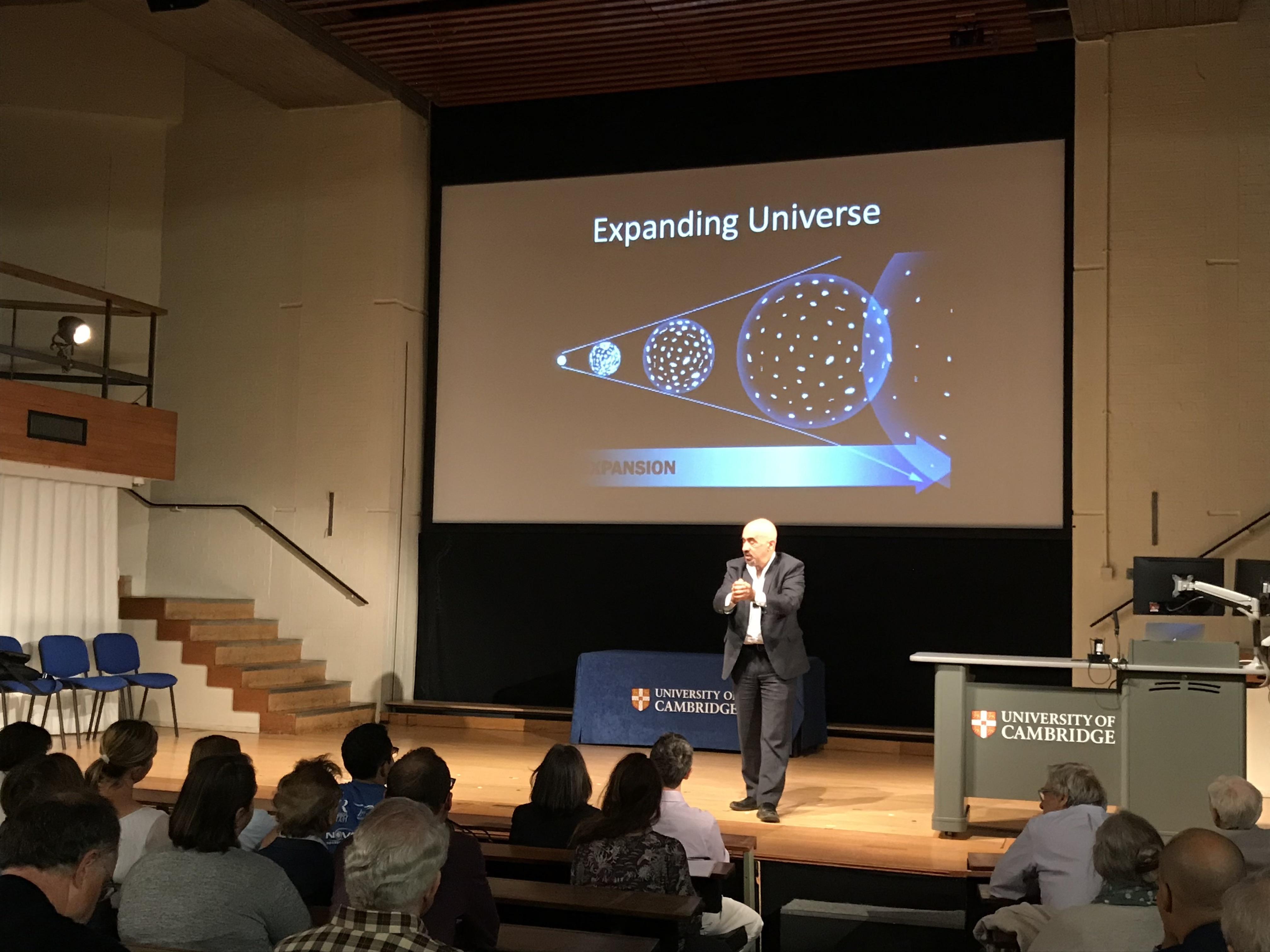 Public Lecture: David Spergel