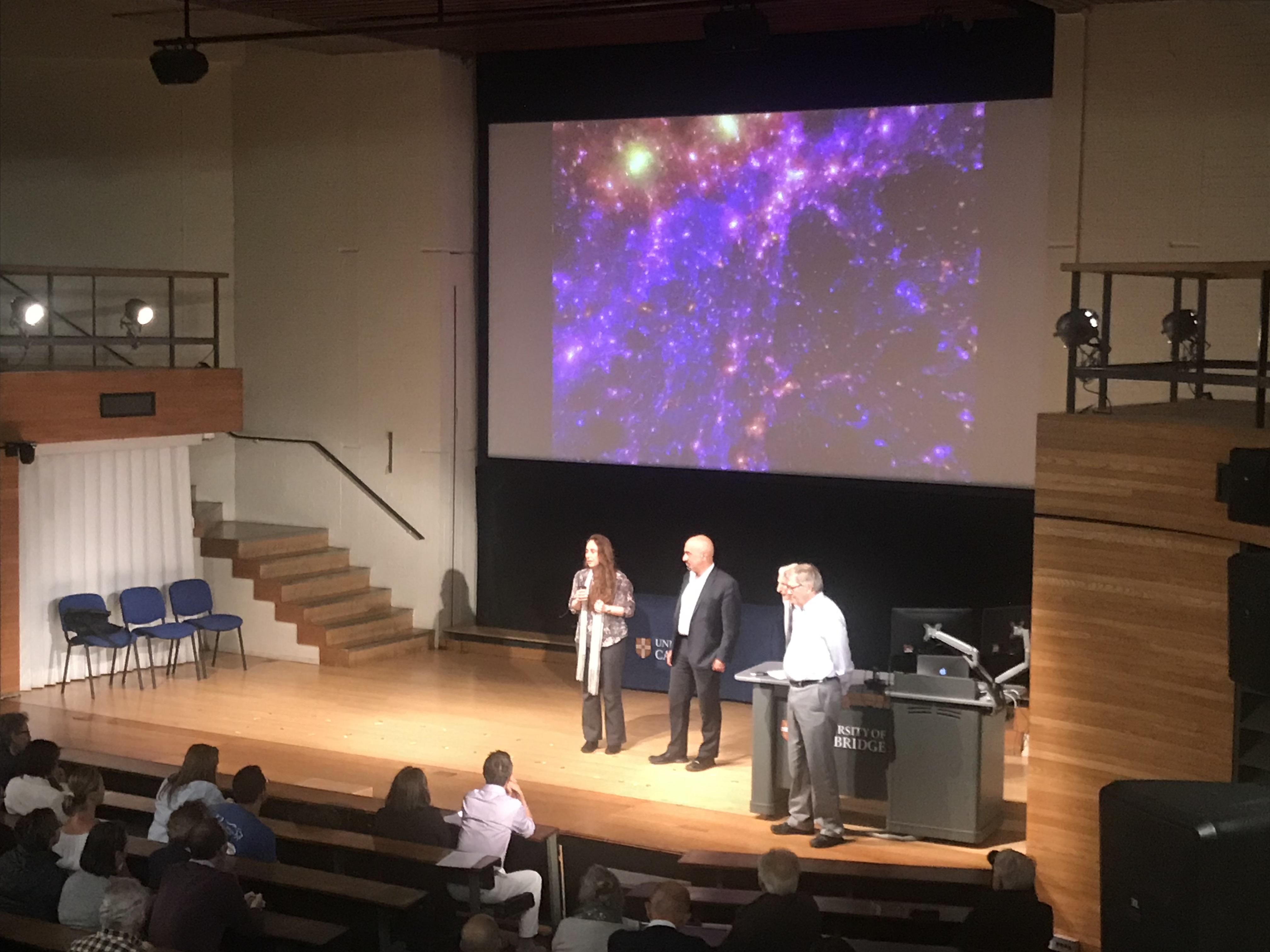 Public Lecture: Debora Sijacki, David Spergel, Martin Rees, Roger Blandford