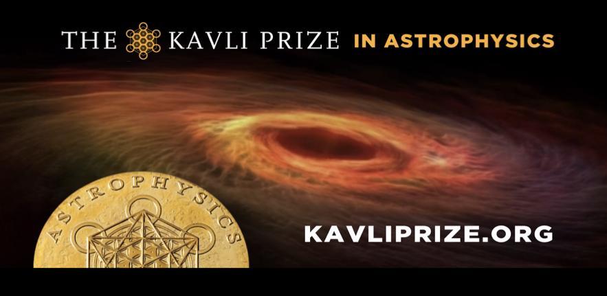 Professor Andrew Fabian awarded 2020 Kavli Prize for Astrophysics