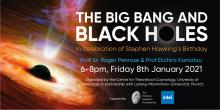 Special public lectures in celebration of Stephen Hawking's birthday